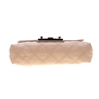 Marc Jacobs Nude Leather Baroque Shoulder Bag 187328 - 5