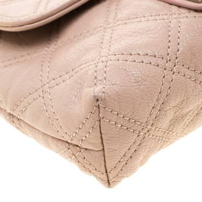 Marc Jacobs Nude Leather Baroque Shoulder Bag 187328 - 9