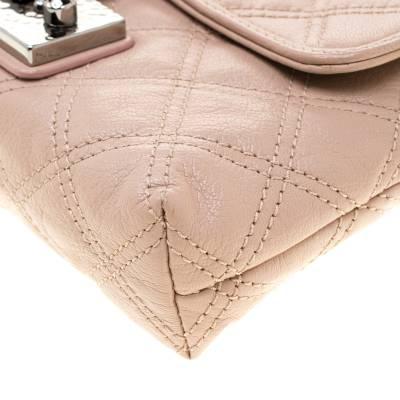 Marc Jacobs Nude Leather Baroque Shoulder Bag 187328 - 10