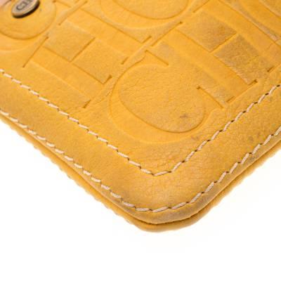 Carolina Herrera Mustard Signature Leather Crossbody Bag 187012 - 9
