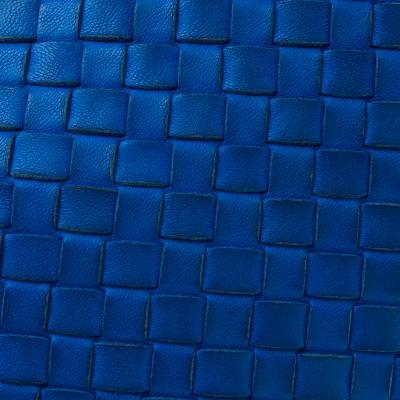 Bottega Veneta Blue Intrecciato Leather Nodini Crossbody Bag 187378 - 4