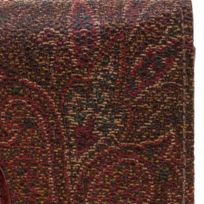 Etro Brown Paisley Printed Coated Canvas Trifold Wallet 185788 - 4