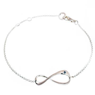 Montblanc UNICEF Infiniment Vôtre Sterling Silver Bracelet 186969 - 2