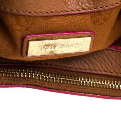 Tory Burch Brown Leather Flap Crossbody Bag 187220 - 8