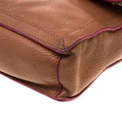 Tory Burch Brown Leather Flap Crossbody Bag 187220 - 11