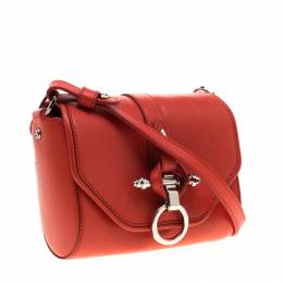 Givenchy Red Leather Small Obsedia Crossbody Bag 192905