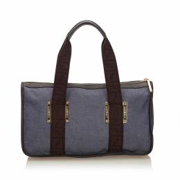 Fendi Blue Jacquard Everyday Bag 150467