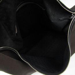 Bottega Veneta Two Tone Canvas and Leather Shoulder Bag 192713