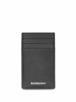 Burberry фактурный картхолдер 8014675