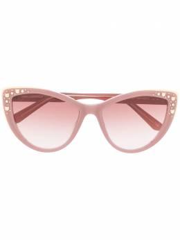 Karl Lagerfeld солнцезащитные очки Choupette Rocky с заклепками KL00986S052