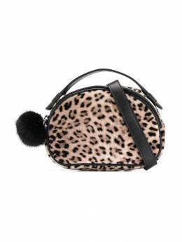 Monnalisa клатч с леопардовым принтом 4940044646
