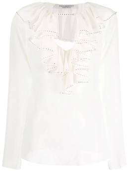 Philosophy Di Lorenzo Serafini блузка с оборками на воротнике A02135717