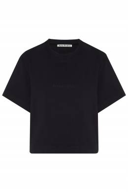 Черная укороченная футболка Acne Studios 876143993