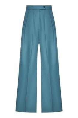 Бирюзовые брюки с защипами Acne Studios 876143986