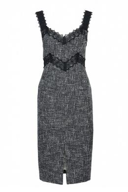 Платье-футляр из твида Blumarine 533144414