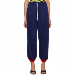 Gucci Blue GG Lounge Pants 574016XJA8F