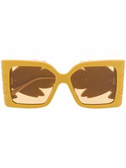 Gucci Eyewear солнцезащитные очки в квадратной оправе GG0535S