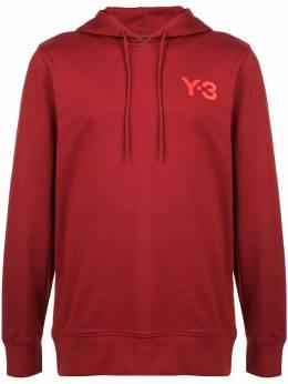 Y-3 толстовка с капюшоном и логотипом DP0463