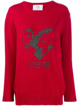 Alberta Ferretti свитер с вышивкой J09346608