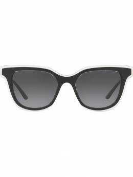 Dolce&Gabbana Eyewear солнцезащитные очки в квадратной оправе DG436253838G