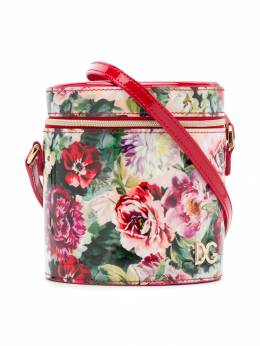 Dolce & Gabbana Kids сумка на плечо с цветочным принтом EB0185A3D81