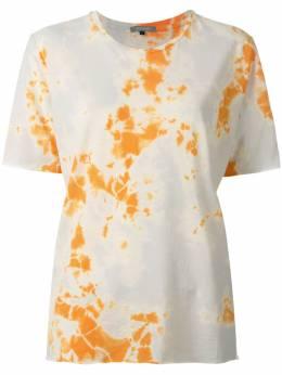 Suzusan футболка с принтом 2001C01