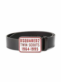 Dsquared2 Kids ремень с логотипом на пряжке DQ03BBD00Q1
