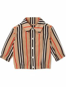 Burberry Kids жакет в полоску Icon Stripe 8014122