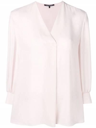 Luisa Cerano - блузка с V-образным вырезом 60909689353890900000 - 1