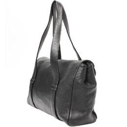 Furla Black Leather Shoulder Bag