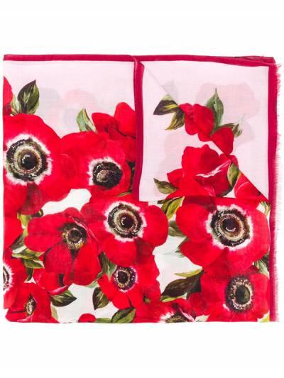 Dolce & Gabbana шарф с цветочным принтом FS184AGDN62 - 1