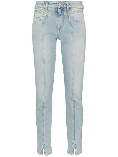 Givenchy - джинсы прямого кроя с открытыми швами 6EB56AG9339506800000 - 1