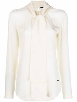 Dsquared2 neck-tied fitted blouse S75NC0697S40249