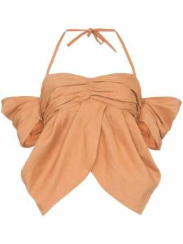 Rejina Pyo блузка с открытыми плечами и вырезом халтер C209