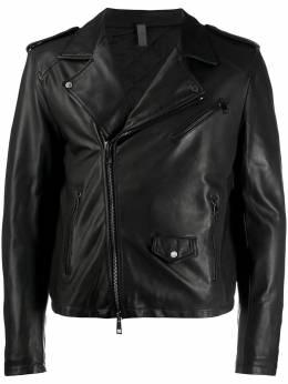 Tagliatore байкерская куртка кроя слим FORMANDDI1901