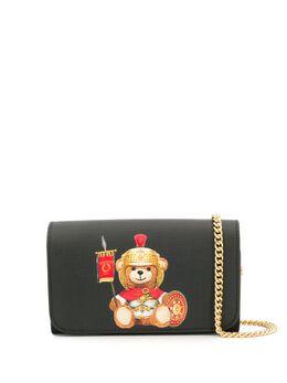 Moschino сумка на плечо с принтом A81278210