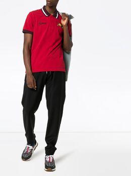 Kenzo рубашка-поло с вышивкой F965PO0374BA
