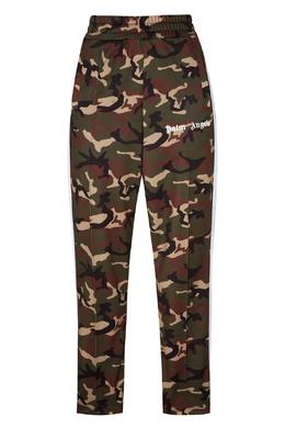 Камуфляжные брюки с логотипом Palm Angels 1864144188