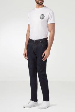 Черные джинсы с вышивкой Billionaire 1668144690