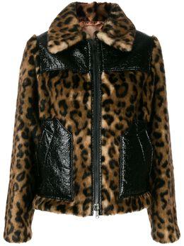 No. 21 куртка с леопардовым принтом N2MO0222830