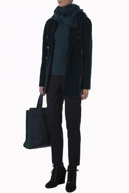 Черные брюки с застежкой сбоку Alberto Biani 2972140301