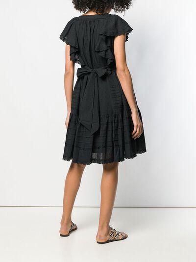 Temperley London - платье Beaux BAX53680939630660000 - 4