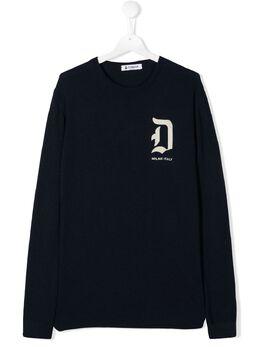 Dondup Kids свитер с логотипом BM192MY0007BW74
