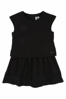 Платье Karl Lagerfeld Kids Z12073/09B SS18