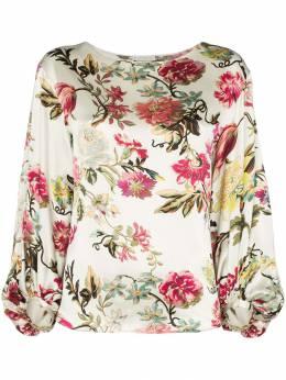 Etro блузка с цветочным принтом 179045103