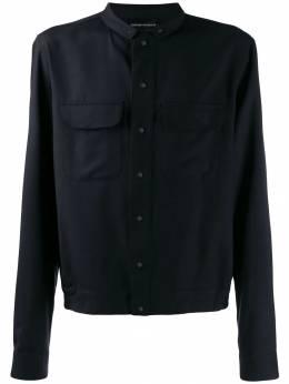 Emporio Armani куртка-рубашка свободного кроя 41CD1T4158C