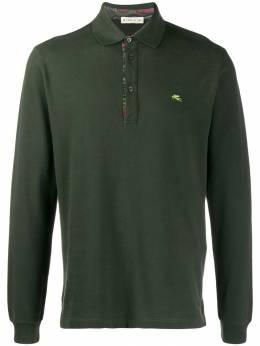 Etro рубашка-поло с длинными рукавами 1Y9109680