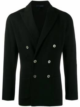 Lardini двубортный пиджак узкого кроя ILLJM57IL53001