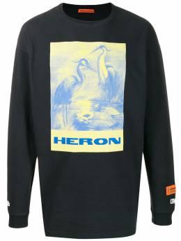 Heron Preston толстовка с принтом HMAB005F196000080488