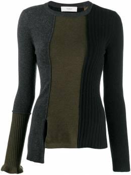 Pringle Of Scotland приталенный свитер в стиле колор-блок WTF020